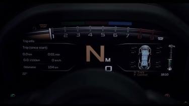 McLaren 720S - instruments screen grab
