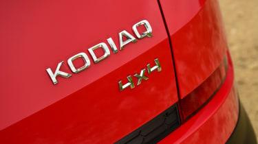 Skoda Kodiaq - badge
