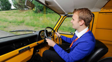 Joe drives Mark 1 Ford Transit
