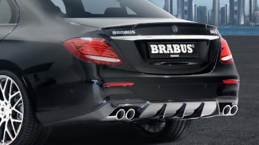 Mercedes E-Class Brabus 2017 - rear detail