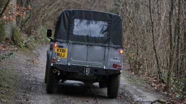 Land Rover Defender double cab rear