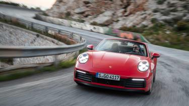 New Porsche 911 Cabriolet