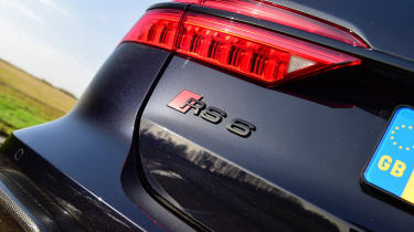 Audi RS 6 - rear badge