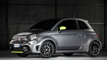 Abarth 595 Pista - side