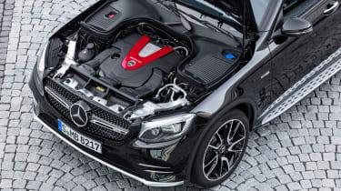 Mercedes-AMG GLC 43 Coupe - engine