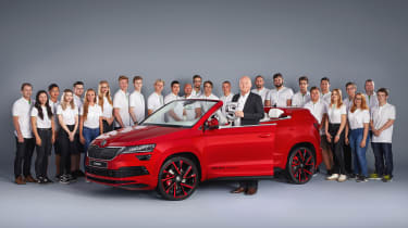 Skoda Sunroq - students