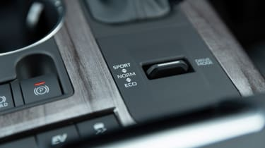 Toyota Highlander - interior detaiil