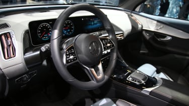 New Mercedes GLE interior