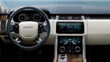 Range Rover SDV8 - dash