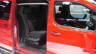 Citroen Dispatch CV Show - rear seats