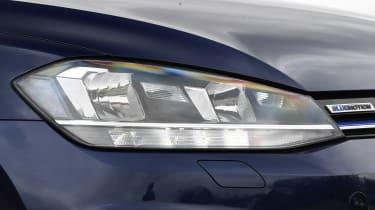 vw golf headlight