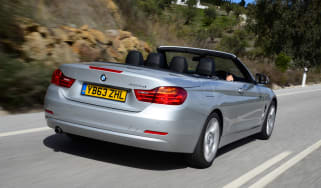 BMW 420d 2014 driving