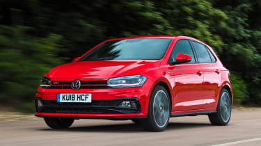 Volkswagen Polo GTI - front action