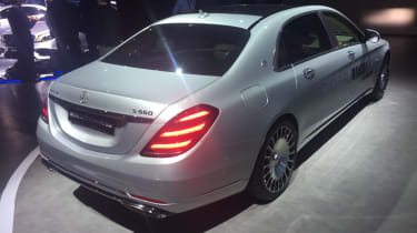 Mercedes-Maybach S-Class - Geneva rear