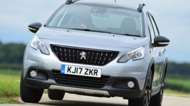 Peugeot 2008 - front grille
