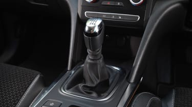 Renault Megane diesel - gearstick