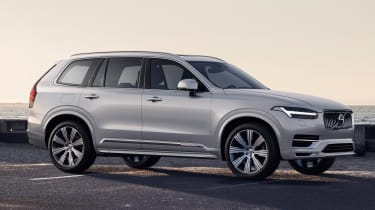 Volvo XC90 facelift - front road
