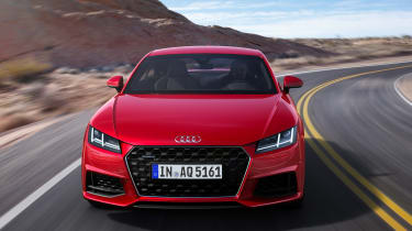 Audi TT - full front
