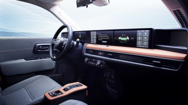 Honda e Prototype - cabin