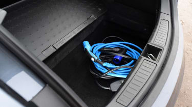 Tesla Model S - charging cable