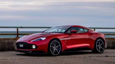 Aston Martin Vanquish Zagato - front static