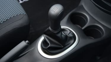 Nissan Note gearlever