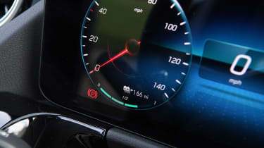 Mercedes EQA 250 - dial detail