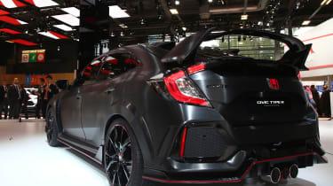 Honda Civic Type R 2017 concept - Paris rear quarter