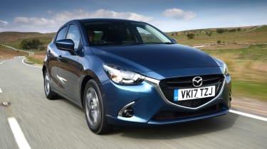 Mazda 2 - front blue