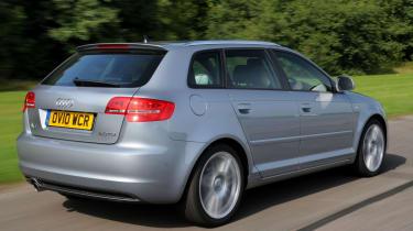 Audi A3 Sportback rear tracking