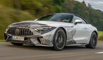 Mercedes SL prototype - front