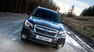 Subaru Forester XT - full front action