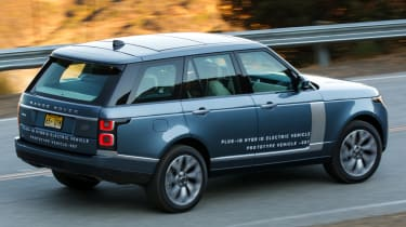 New Range Rover PHEV 2017 review - driving road