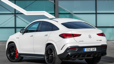 Mercedes-AMG GLE 63 S Coupe - rear static