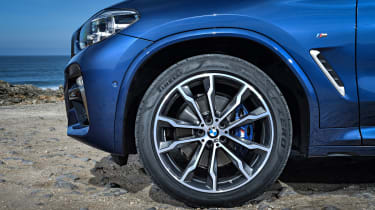 BMW X3 M40i - wheel detail
