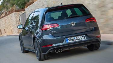 Volkswagen Golf GTD 2017 facelift - rear tracking 3