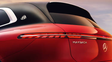Mercedes-Maybach EQS SUV - rear detail