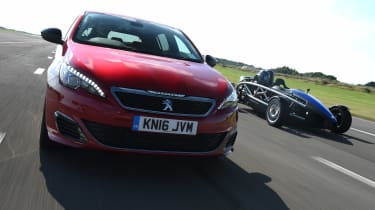 Long-term test review Peugeot 308 GTi vs Ariel Atom