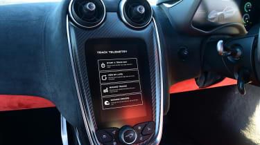 McLaren 600LT - infotainment