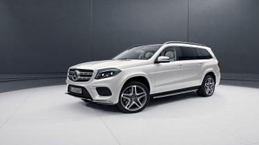 Mercedes GLS Grand Edition in white