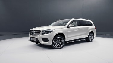 Mercedes GLS Grand Edition in white