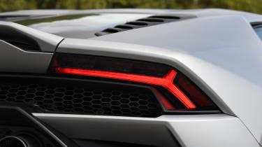 Lamborghini Huracan Evo - rear lights