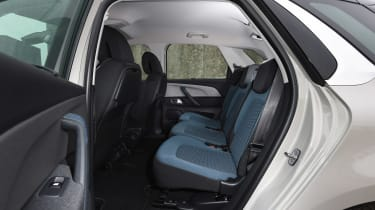 Citroen C4 Picasso long termer second report - rear seats
