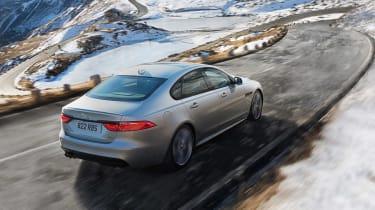 Jaguar XF AWD - rear action