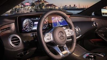 Mercedes-AMG S 63 Coupe 2018 interior