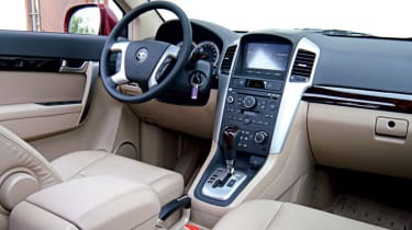 Interior feels well built and is generously equipped