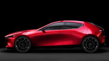 Mazda Kai concept - side static