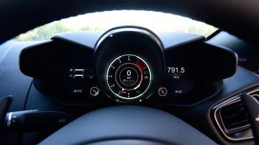 Aston Martin Vantage - dials