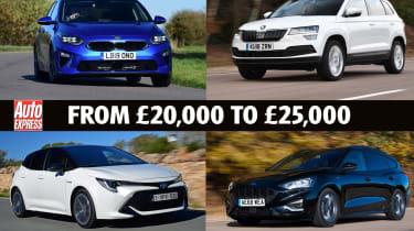 Best Company Cars from £20k - £25k - header