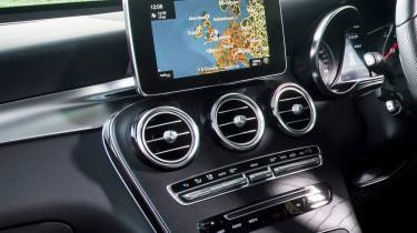 Mercedes GLC 250d Coupe - sat-nav
